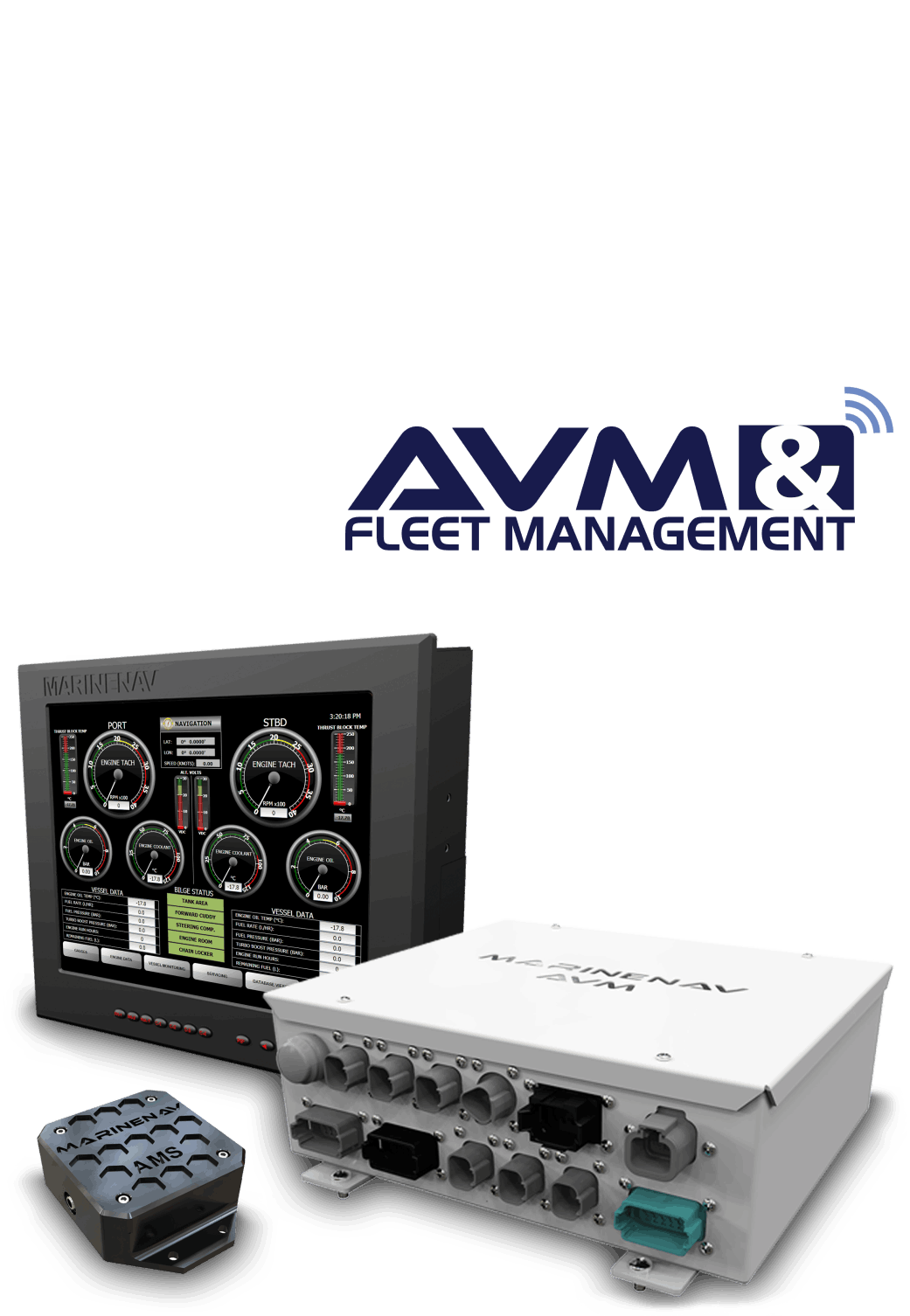MarineNav Advanced Vessel Monitoring & Fleet Management