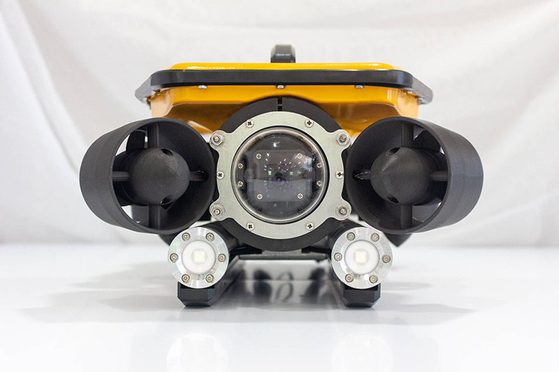 Oceanus Pro and Mini ROV - front view