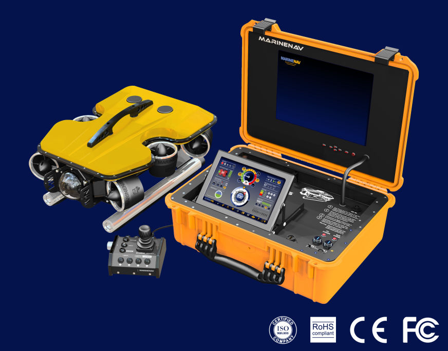 Oceanus Mini ROV systems. Click for more information.