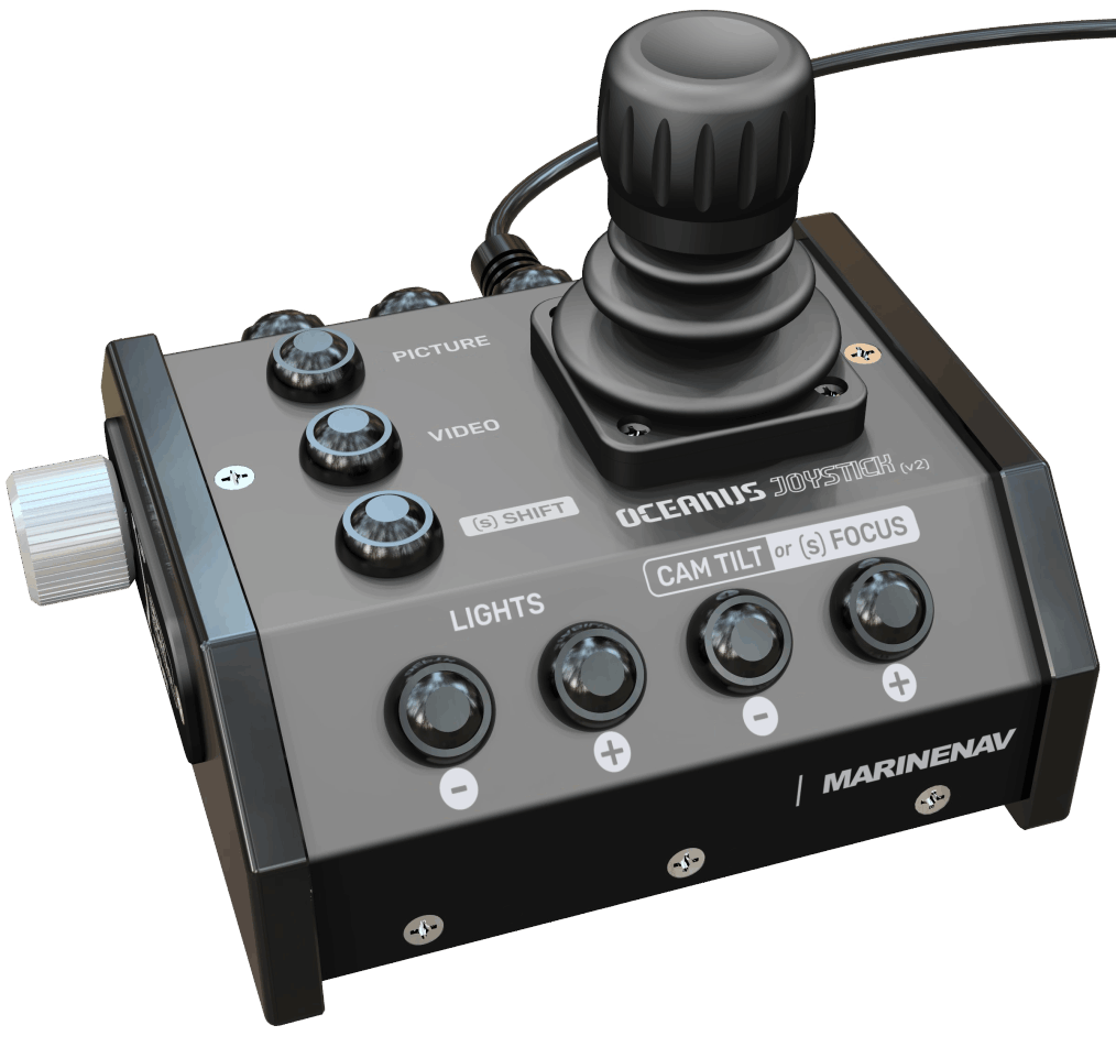 Oceanus hand controller - configured for your ROV